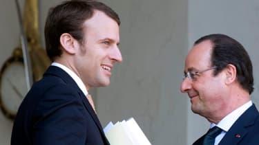 """Emmanuel Macron, le secrétaire général adjoint de l'Elysée (photo), forme avec Philippe Léglise-Costa, le conseiller Europe, un tandem pro-européen""""."""
