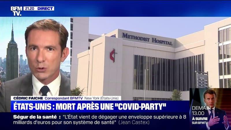 """Aux États-Unis, un homme est mort après une """"Covid party"""""""