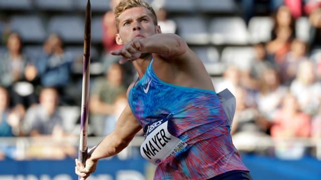 Kevin Mayer est parfaitement rentré dans son épreuve de décathlon