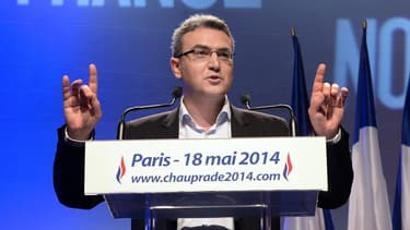 Aymeric Chauprade a été élu eurodéputé en 2014