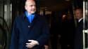 Alain Juppé à la sortie du restaurant le 20 janvier dernier, lors du précédent déjeuner avec les anciens Premiers ministres.