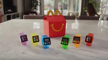 Une capture d'écran de la vidéo de promotion du bracelet.