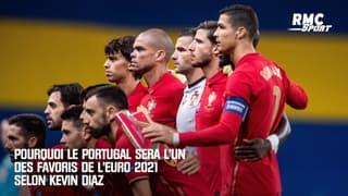 Pourquoi le Portugal sera l'un des favoris de l'Euro 2021 selon Kevin Diaz