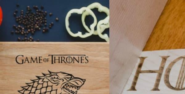 """Les objets dérivés de la série """"Game of Thrones"""""""