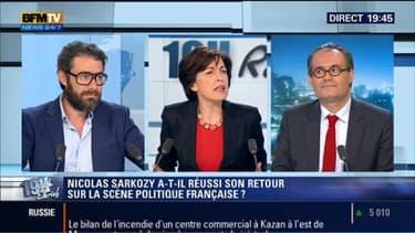 Camille Pascal face à Arnauld Champremier-Trigano: Nicolas Sarkozy a-t-il réussi son retour sur la scène politique?
