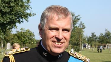 Le prince Andrew en septembre 2011.