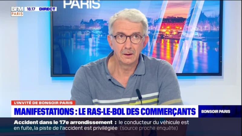 Le président de la Fédération des commerçants de Paris s'inquiète de la manifestation du 31 juillet
