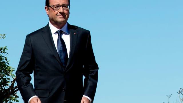 François Hollande a refusé de polémiquer après les propos d'Arnaud Montebourg, qui demande un changement de cap économique.