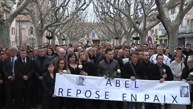 Manifestation en soutien à Abel Chennouf, militaire tombé sous les balles de Mohamed Merah.