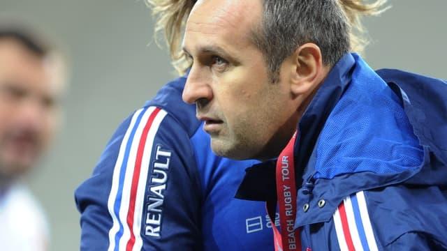 Philippe Saint-André, sélectionneur du XV de France