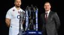 Chris Robshaw et Stuart Lancaster, le capitaine et le sélectionneur de l'Angleterre