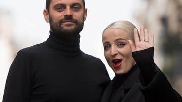 Madame Monsieur, duo qui représente la France au concours de l'Eurovision 2018.