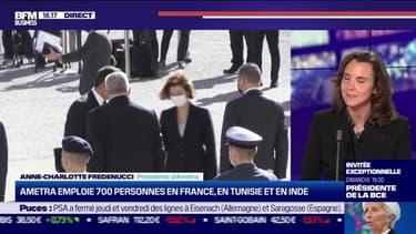 Anne-Charlotte Fredenucci (Ametra) : Ametra emploie 700 personnes en France, en Tunisie et en Inde - 05/02