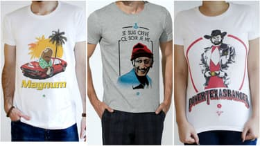 Les t-shirts de la marque KidKulte