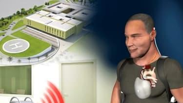 Un coeur artificiel autonome conçu par la société française Carmat a été implanté mercredi.