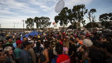 Plus de 6.000 migrants se trouvent à Tijuana.