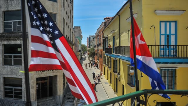 La visite de Barack Obama se prépare, dans les rues de La Havane.