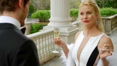 "Nicollette Sheridan dans la série ""Dynastie"""