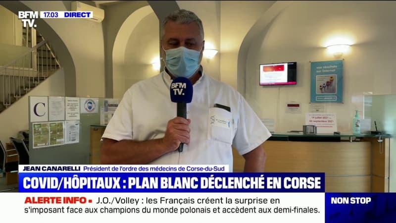 """Covid-19: """"La diffusion a commencé par la Haute-Corse"""", selon le président de l'ordre des médecins de Corse-du-Sud"""