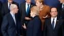 Les dirigeants de l'Union européenne s'acheminent vers un constat de désaccord sur le budget communautaire pour 2014-2020 mais la France et certains de ses partenaires espèrent au moins définir les bases d'une reprise ultérieure des négociations. /Photo p