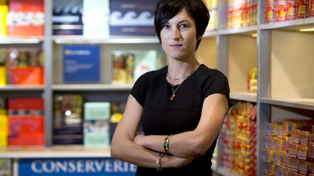 """Caroline Hilliet Le Branchu, PDG de La belle-iloise, veut """"réinventer l'entreprise de demain"""", sans """"dénaturer la marque""""."""