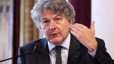Thierry Breton a été ministre de l'Économie de 2005 à 2007.