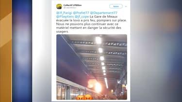 Un incendie s'est déclaré dans une locomotive de la ligne P ce mercredi.