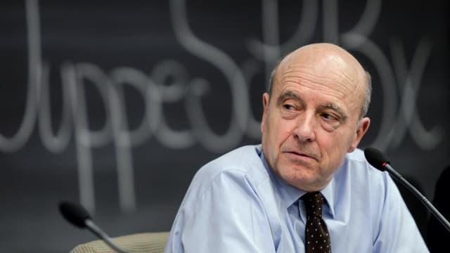 Alain Juppé, en avril 2015, à Sciences Po Bordeaux.