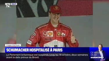 Michael Schumacher hospitalisé à l'hôpital européen Georges Pompidou à Paris