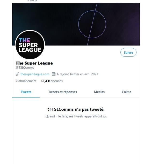 La Super League s'est lancée sur Twitter