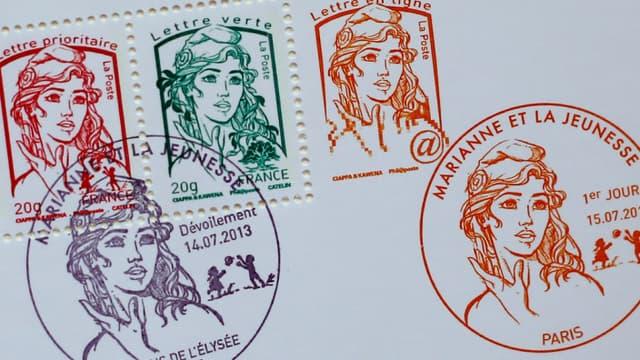 Le tarif du  timbre rouge passera de 0,66 à 0,76 euros au 1er janvier