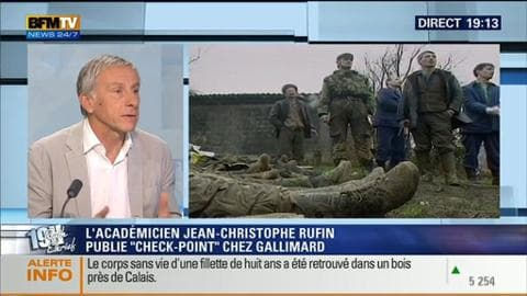 Jean-Christophe Rufin face à Ruth Elkrief