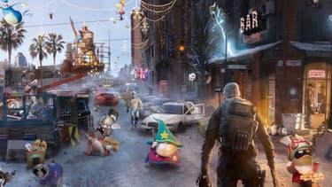 """Pour ses voeux 2014, Ubisoft a créé un mini jeu ultra-addictif sur le principe de """"où est Charlie""""."""