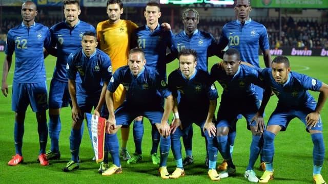 La France face à la Biélorussie en 2013