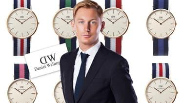 Filip Tysander a créé la marque de montre Daniel Wellington en 2009 alors qu'il n'avait que 24 ans.