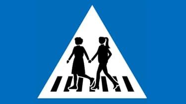 La Ville de Genève remplace 250 panneaux signalant des passages pour piétons par une déclinaison de six pictogrammes féminisés
