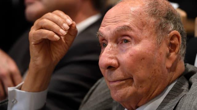 Le sénateur (Les Républicains) Serge Dassault.
