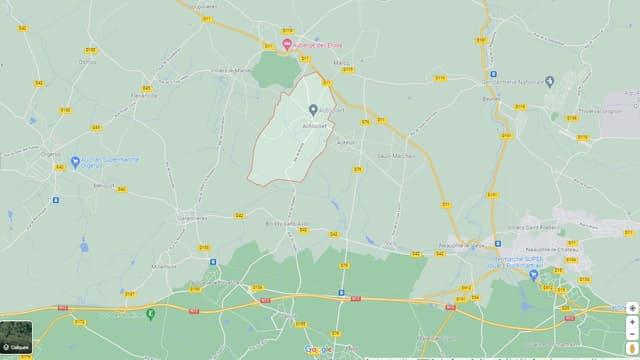 L'appareil s'est écrasé vers 19 heures ce dimanche dans un champ du village d'Autouillet, près de Thoiry.