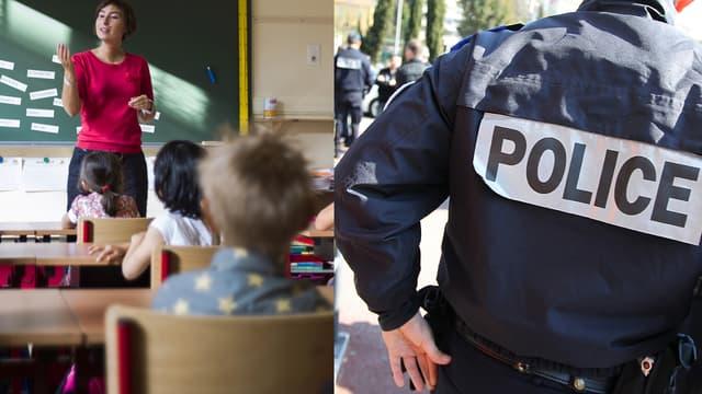 Les enseignants ont particulièrement souffert des restrictions budgétaires, tandis que les effectifs de policiers augmentent depuis les attentats
