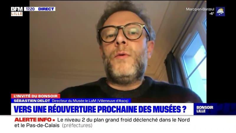 Villeneuve-d'Ascq: Sébastien Delot, directeur du Musée le LaM, estime que c'est