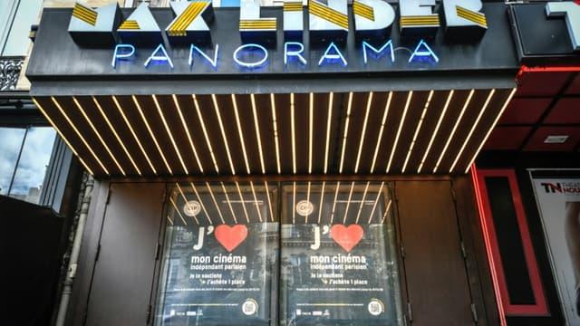 Le cinéma Max Linder à Paris, le 18 juin 2020, quelques jours avant la réouverture des salles de cinéma en France