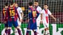 Kylian Mbappé et Lionel Messi, en février 2021.