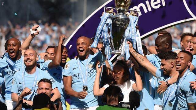 Manchester City, champion en titre