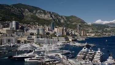 Le port de Monaco, le 25 septembre 2019