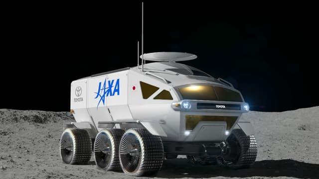 Le prototype de rover lunaire conçu par Toyota