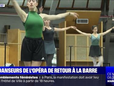 Les danseurs de l'Opéra de retour à la barre - 10/07