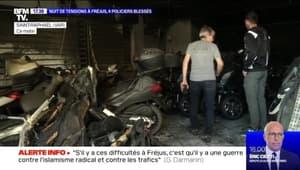 Nuit de tensions à Fréjus: 4 policiers blessés - 09/05