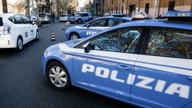 Une voiture de la police italienne (photo d'illustration)