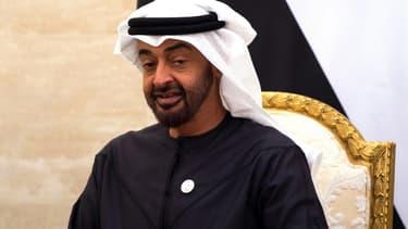 Mohammed ben Zayed Al-Nahyane, le prince héritier d'Abou Dhabi, le 12 janvier 2019 à Abou Dhabi