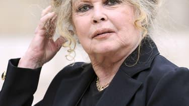 Brigitte Bardot, en 2007, à l'Elysée. Depuis de nombreuses années, l'ancienne actrice essaie de faire pression sur la classe politique pour défendre les animaux.
